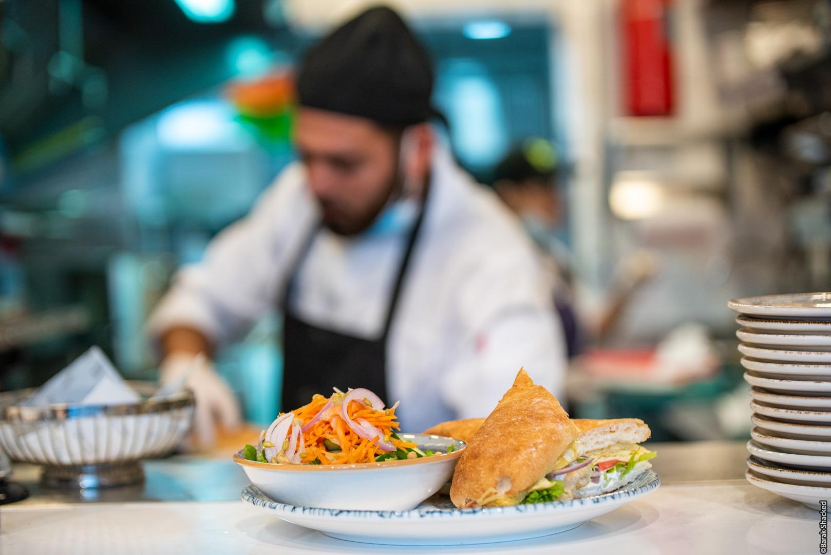 צילום מטבח מסעדה