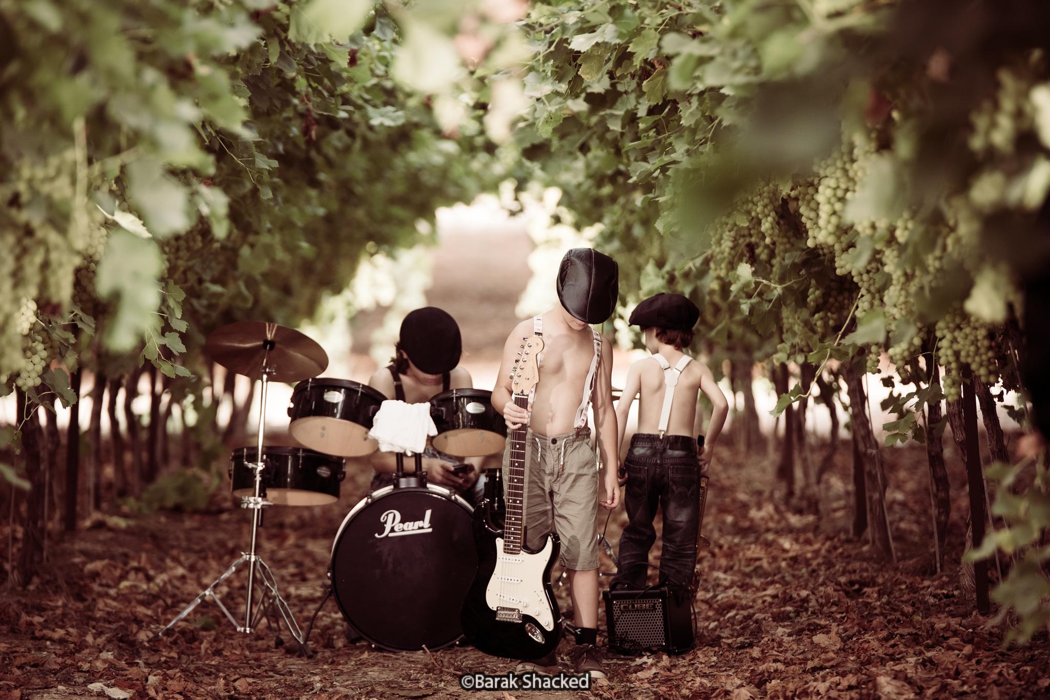 צילום ילדים בכרם