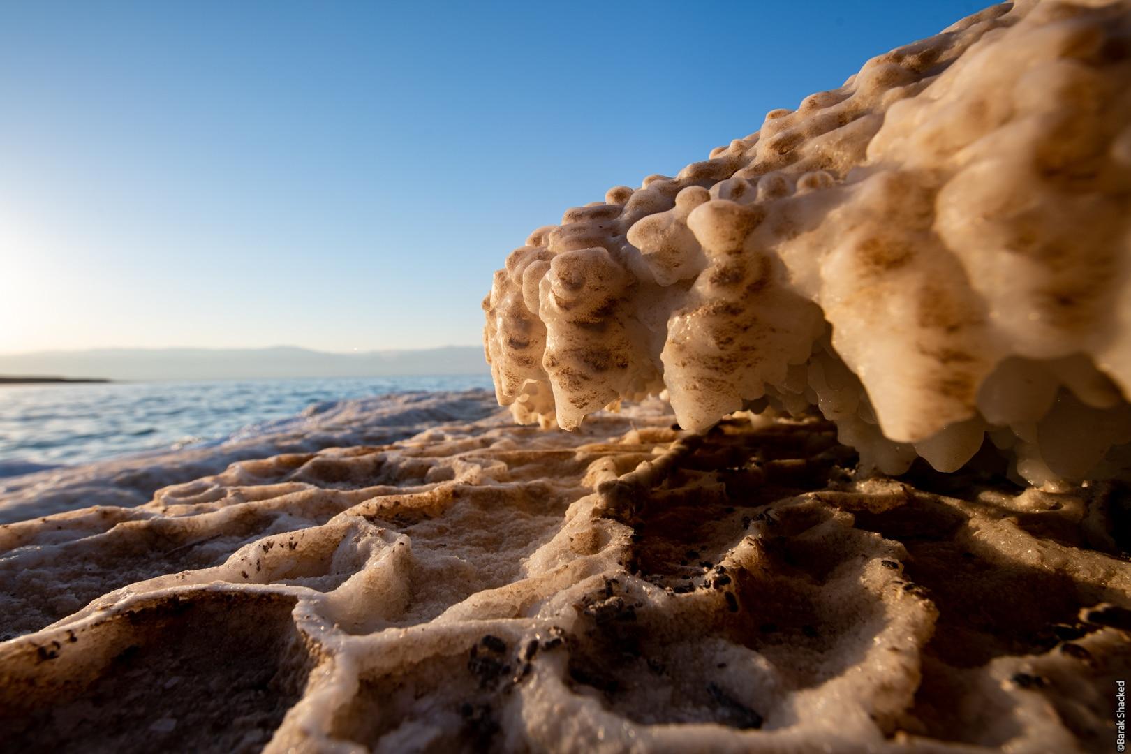 צילום ייחודי בים המלח